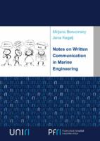 Notes on Written Communication in Marine Engineering